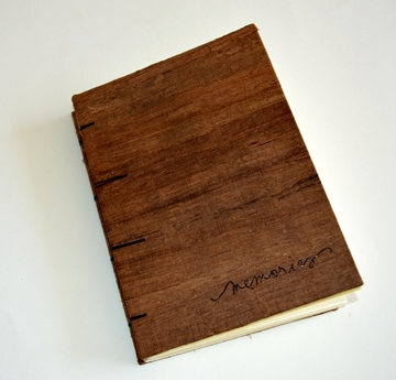 Picture of Wooden Coptic Journal - Memories