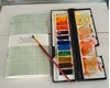 Picture of Midori Insert, Watercolor Journal - Green