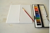 Picture of Midori Insert , Watercolor Journal - Travel
