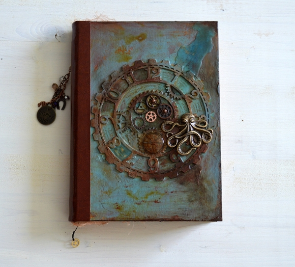 Picture of Handmade Steampunk Journal - Timekeeper