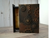 Picture of Secret Spine drawer Book with cogs and gears