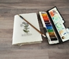Picture of Watercolor Cahier with Khadi Covers - Create Because you Love it